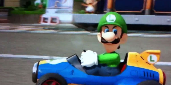 Luigi S Ridin Dirty In Mario Kart 8 Nintendo Fire