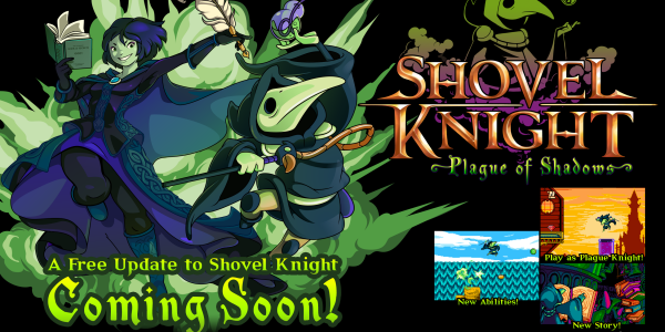 march 4 free dlc shovel knight banner